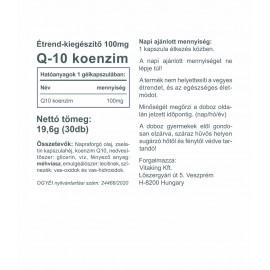 Q-10 Koenzim 100mg