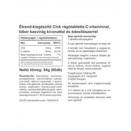 Cink Immuno Rágótabletta