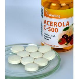 Acerola C-500 Málnás Ízben