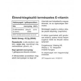 E-Vitamin 400NE Természetes