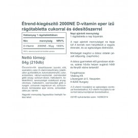 Epres D3-Vitamin 2000NE (210)