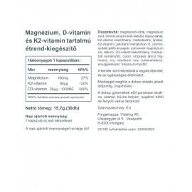 MagneTrio (30) Mg+D3+K2