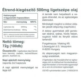 Ligetszépe olaj 500mg (100) – Vitaking