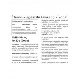 Ginzeng Kivonat 400mg (90)