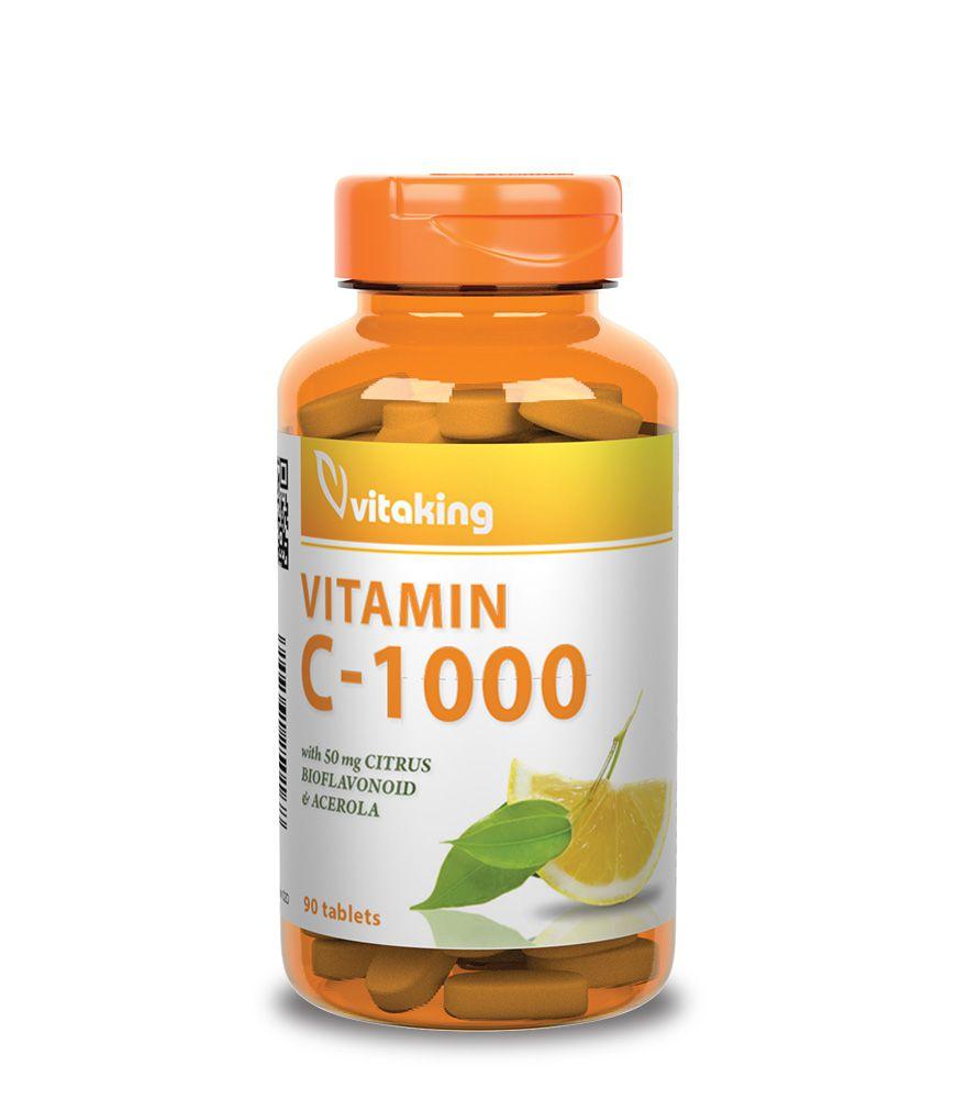 C-Vitamin 1000mg + Biof. (90)