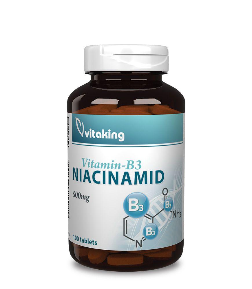 Niacinamid (B3 Vitamin) 500mg