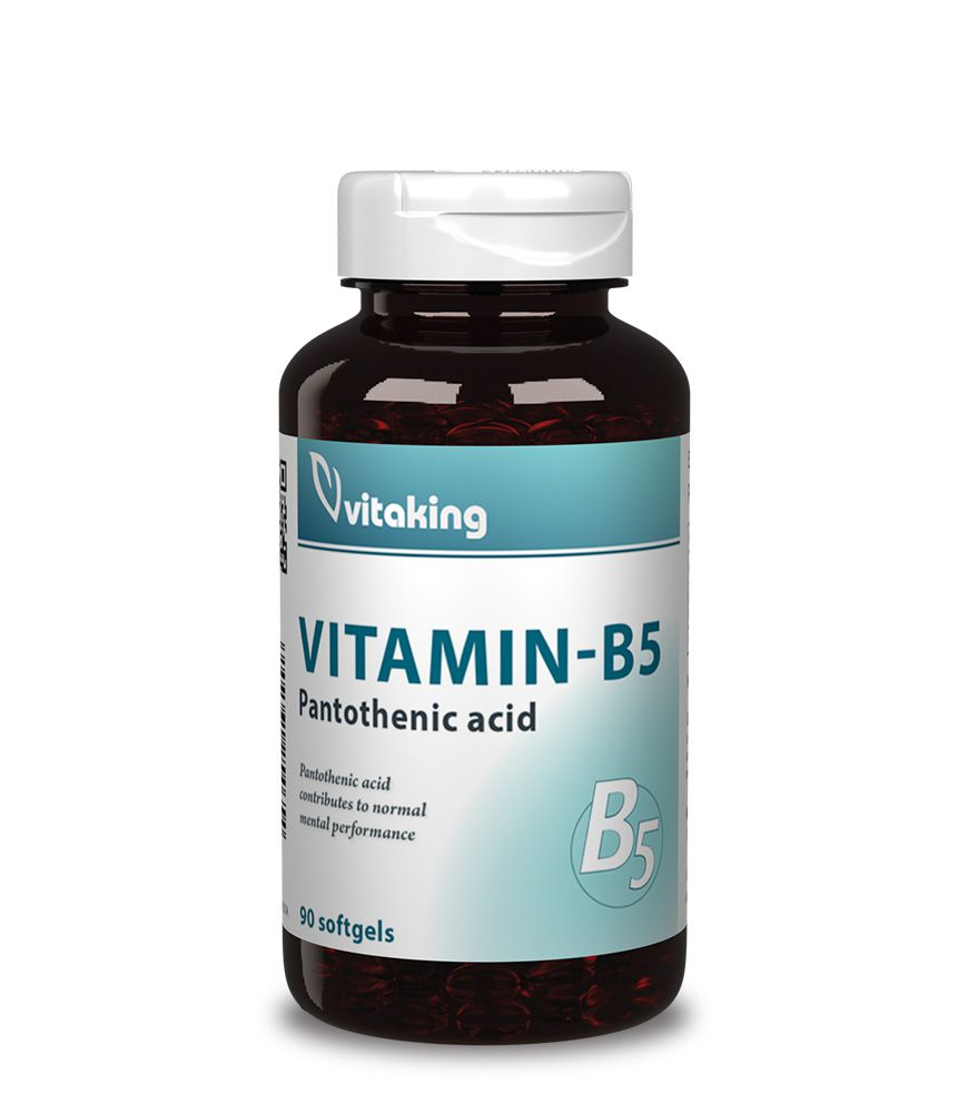 Pantoténsav – B5 Vitamin