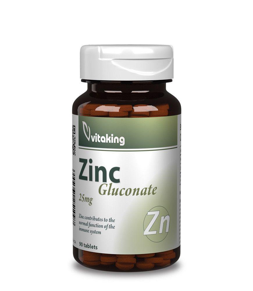 Cink Glükonát 25 Mg (90) Vitaking