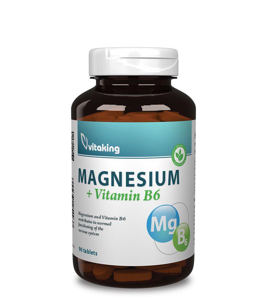 Magnézium Citrát +B6 (90)